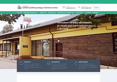 Joniškio socialinių paslaugų ir užimtumo centras