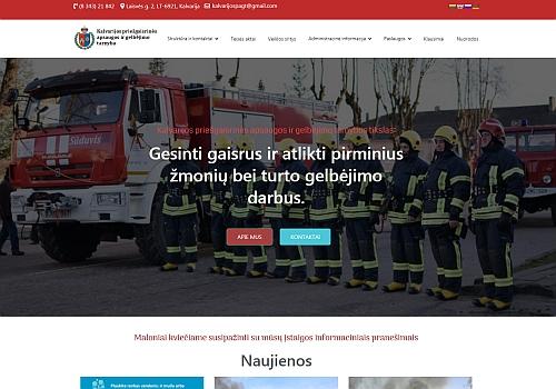 Kalvarijos priešgaisrinės apsaugos ir gelbėjimo tarnyba