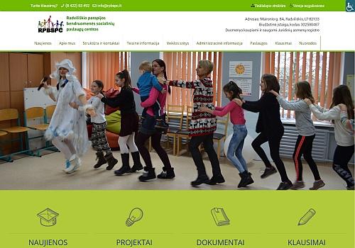 Radviliškio parapijos bendruomenės socialinių paslaugų centras